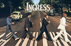 #Ingress Beatles Abbey Road - bet it's a portal!