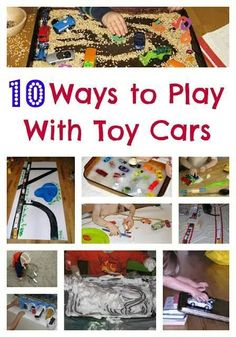 10 ways to play with cars