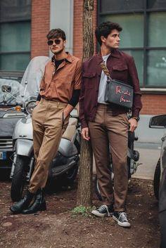 New Fashion Week Men Street Style Menswear 32 Ideas Street Style Inspiration, Inspiration Mode, Style Ideas, Fashion Inspiration, Design Inspiration, Cool Street Fashion, Trendy Fashion, Fashion Trends, Trendy Clothing