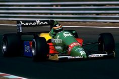 1988 GP Portugalii (Thierry Boutsen) Benetton B188 - Ford