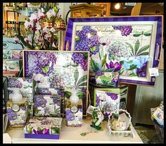 You are invited to join us for our Mother's Day sale this Sunday, May 3rd. All items will be 20% off store wide excluding consignments. It's a fantastic way to get Mom a gift that she will love for a great price! The Hydrangea line with dramatic bursts of color, lush flowers, and a rich, heady scent, declares that spring is truly here and would make a fantastic gift for Mom! #mom #mothersday #Sophias #gifts