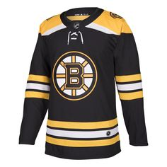 25a5df6ec5b Boston Bruins Home 252J Adidas NHL Authentic Pro Jersey