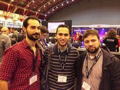 The TBG Creative Development team at #AppsWorld #TBGculture