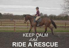 Ride a rescue.