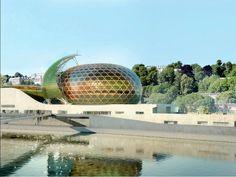 La #Seine #musicale : un complexe culturel sur l'Ile Seguin #architecture #ShigeruBan