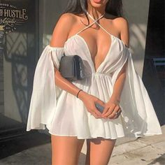 Edgy Outfits, Teen Fashion Outfits, Mode Outfits, Cute Casual Outfits, Women's Fashion Dresses, Look Fashion, Pretty Outfits, Sexy Dresses, Cute Dresses