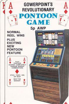 Pontoon fruit machine by Gowerpoint Revolutionaries, Arcade Games, Fruit, Classic, Derby, Classic Books