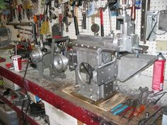 Gingery Metal Shaper by leonane -- Homemade Gingery metal shaper constructed from metal castings and machined on a lathe. Fabricated in accordance with the Dave Gingery plans. http://www.homemadetools.net/homemade-gingery-metal-shaper