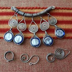 wire wrapped jewelry making tutorial