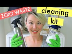 MY ZERO WASTE CLEANING KIT || Kate Arnell - YouTube