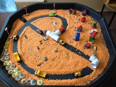 Transport tuff tray