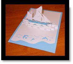 Malgré mon absence depuis quelques mois du blog, je n'ai pas arrêté pour autant le Scrapbooking et je vous réserve pleins de jolies surprises à venir. Et pour commencer, une carte pop-up en Kirigami pour un anniversaire fêté en bord de mer ;-) 60 ans,...