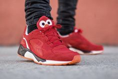 "PUMA x Sesame Street "" On Feet """