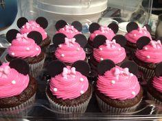 Minnie Mouse Cupcakes | Cupcake, cupcake party, cupcake tree, mini cupcakes, Weddings Cupcakes ...
