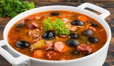 Сборная мясная солянка Tasty, Yummy Food, Blue Food, Russian Recipes, Russian Foods, Smoking Meat, Tofu, Chili, Food And Drink