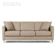 한샘몰 Hanssem Mall - 3-person sofa (504,000won) Reed brown