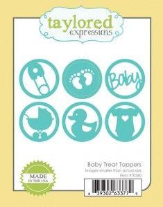 100zł     Wykrojnik - Taylored Expressions - Baby Treat Toppers - motywy dziecięce