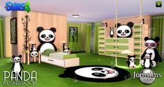 PANDA Kids bedroom at Jomsims Creations • Sims 4 Updates