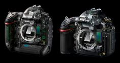 Nikon's new flagship D4 DSLR and its cousin the D800 were both designed by famed Italian car designer Giorgetto Giugiaro and his studio Italdesign Giugiaro.