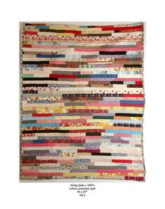 Luise Ross Gallery - string quilt c 1950's