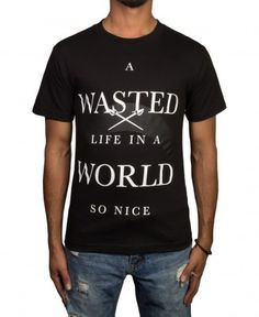 Black Scale - A Wasted Life T-Shirt - $32