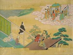 The Tale of the Bamboo Cutter also known as Princess Kaguya that is considered the oldest extant Japanese narrative