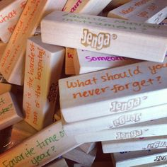 Because any game can be a therapeutic game when you're a child life specialist. Can't wait to use my newly labelled Jenga blocks with my patients. A great form of therapeutic play Therapy Games, Therapy Tools, Therapy Activities, Play Therapy, Art Therapy, Grief Activities, Counseling Activities, Grief Counseling, School Counseling