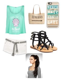 """""""To the beach"""" by teendesgindiva on Polyvore featuring MANGO, Wildfox, Style & Co., Casetify and Mystique"""