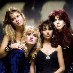 See The Bangles pictures, photo shoots, and listen online to the latest music. Susanna Hoffs, The Bangles Band, Michael Steele, Women Of Rock, Rock And Roll Bands, Rock Roll, Cyndi Lauper, Rock Legends, Girl Bands