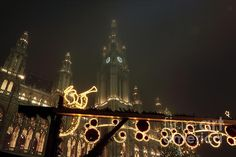 Christkindlmarkt Photograph by John Rizzuto Empire State Building, Vienna, Cathedral, Fine Art Prints, Photography, Travel, Photograph, Viajes, Photography Business