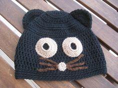 Beanies Crochet and Knitting   CAT