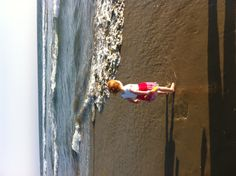 First steps into the Pacific Ocean
