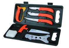 Outdoor Edge OE-WP-2 WILD-PAK Light-weight, 8-piece game processing set- BOX #OutdoorEdge