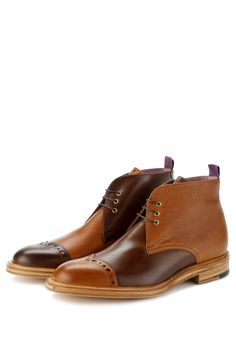 Chukka Boot; when your old man can't tell his left from his right...