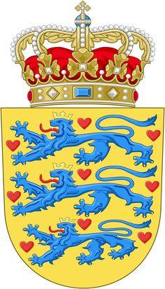 Adela of Meissen (died 23 October was a Danish Queen consort, spouse of King Sweyn III of Denmark. She was the daughter of Conrad, Margrave of Meissen, and Luitgard of Ravenstein. Widowed in she married count Adalbert III of Ballenstedt. Danish Flag, Kingdom Of Denmark, Denmark Travel, Denmark Europe, Danish Royalty, National Animal, Copenhagen Denmark, Family Crest, Crests