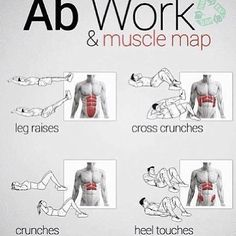 # ABS workout basics but I think they are the best.
