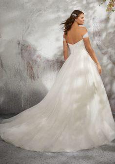 Lyla Wedding Dress   Style 3245   Morilee Plus Size Wedding Gowns, Princess Wedding Dresses, Bridal Wedding Dresses, Wedding Dress Styles, Dream Wedding Dresses, Prom Dresses, Wedding Dress Backs, Perfect Wedding Dress, Mori Lee Bridal