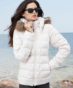 Toni Sailer Daphne Fur Womens Ski Jacket White | ski and apres-ski ...