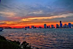 Biscayne Bay Sunset by Terry Neves on 500px