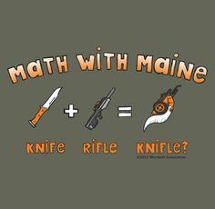 Maine's math, is the best math