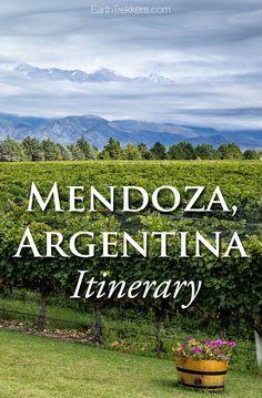 Mendoza Argentina It