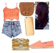 """""""Untitled #58"""" by magy662520 ❤ liked on Polyvore featuring Parisian, Soludos, Goldgenie and Accessorize"""