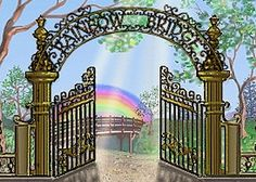 Welcome to Rainbow Bridge This site provides an interactive memorial page, as well as a pet loss forum and links to other pet loss resources.