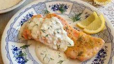 Twittear      Esta es una recopilación de las recetas de nuestra Web que tienen el salmón como ingrediente principal. Asado, a l... Keto Recipes, Healthy Recipes, Teriyaki Salmon, Kiss The Cook, Dessert For Dinner, Fun Drinks, Seafood, Recipies, Food And Drink