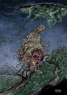 Paskal Millet Art The Dunwich Horror