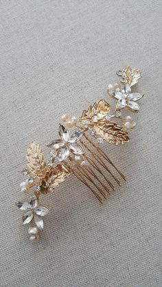 Wedding Hair Comb Crystal Hair Comb Bridal Hair Comb | Etsy