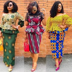 is an African fashion and lifestyle website that showcase trendy styles and designs, beauty, health, hairstyles, asoebi and latest ankara styles. African Fashion Skirts, African Dresses For Women, African Print Dresses, African Print Fashion, Africa Fashion, African Attire, African Wear, African Women, African Shirts