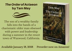 My book, The Order of Actaeon, is now available for preorder! And there's also a preorder giveaway going.