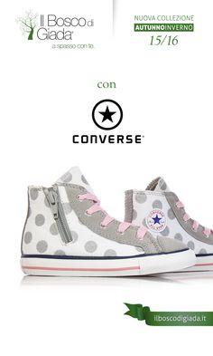 Nuova Collezione #converse Autunno-Inverno 15/16. #Scarpe per #bambini, #ragazzi e #donne alla #moda. Acquistale su www.ilboscodigiada.it - #shoes #FW1516