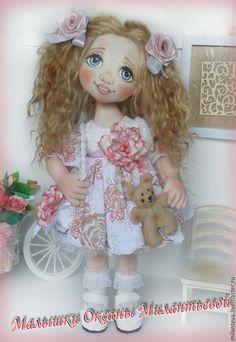Купить или заказать Сонюшка.Кукла текстильная. в интернет-магазине на Ярмарке Мастеров. Кукла Сонечка. Ручки и ножки подвижные,волосы-трессы козочки. Текстильная кукла может использоваться как интерьерная кукла, Кукла станет отличным подарком для девушки или женщины. Интерьерная Текстильная Кукла создана из высококачественного хлопка. Малышка станет прекрасным подарком на любой случай. Кукла выполнена в единственном экземпляре!